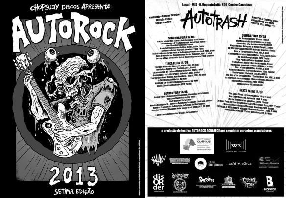 programação autorock 2013